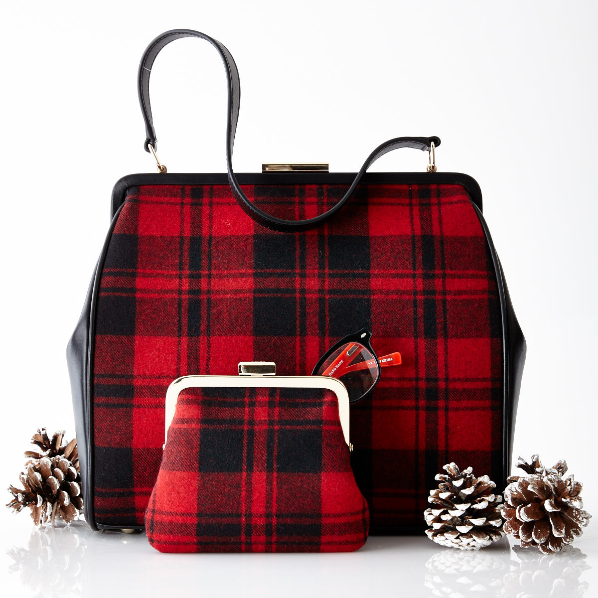 PlaidPurseHandbag